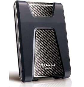 """ADATA Externí HDD 500GB 2,5"""" USB 3.0 DashDrive Durable HD650, černý (gumový, nárazu odolný)"""