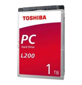 Interný HDD Toshiba L200 2,5'' 1TB SATA 5400RPM 128MB BULK