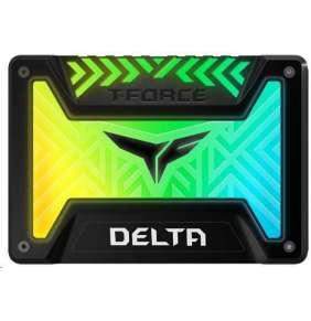 """T-FORCE SSD 2.5"""" 250GB Delta RGB (black)"""