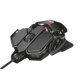 TRUST herní myš GXT 138 X-RAY ILLUMINATED GAMING MOUSE, black