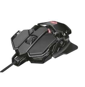 TRUST herní myš GXT 138 X-RAY ILLUMINATED GAMING MOUSE, black
