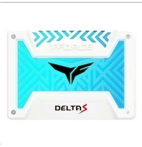 "T-FORCE SSD 2.5"" 500GB Delta S RGB (12V), 3D NAND, White"
