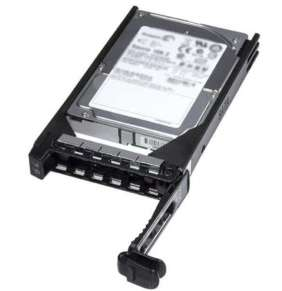 Dell 600GB 10K RPM SAS 2.5in Hot-plug Hard Drive, 3.5in HYB CARR, CusKit