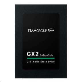 """Team SSD 2.5"""" 256GB GX2 (R:500, W:400 MB/s), black"""