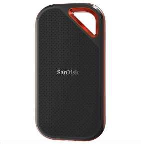 SanDisk externí SSD 2TB Extreme Pro Portable