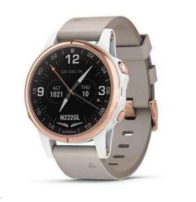 Garmin D2 Delta S-Chytré multisportovní GPS hodinky s leteckými funkcemi a mapami