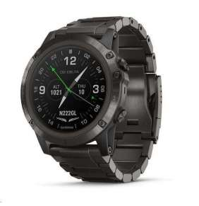 Garmin D2 Delta PX-Chytré multisportovní GPS hodinky s leteckými funkcemi a mapami