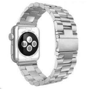 eses kovový řemínek 42mm stříbrný pro apple watch