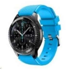 eses silikonový řemínek nebesky modrý pro samsung galaxy watch 46mm/ samsung gear s3