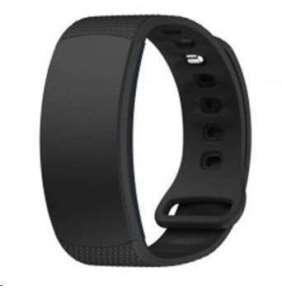eses silikonový řemínek černý ve velikosti s pro samsung gear fit 2/gear fit 2 pro