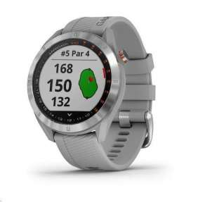 Garmin golfové hodinky Approach S42 Rose Gold/Light Sand Silicone