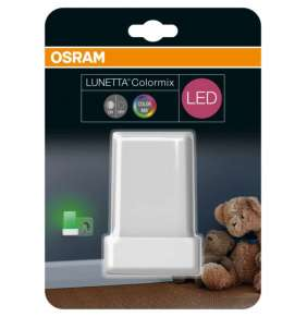OSRAM LED Svítidlo zásuvkové  LUNETTA Shine White 230V N/AW  0 noDIM A+ Plast lm RGBWK h (blistr 1ks)