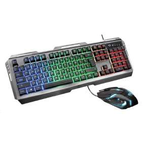 TRUST klávesnice GXT 845 Tural Gaming Combo