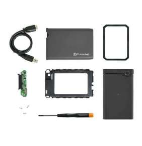 "TRANSCEND SSD/HDD Upgrade Kit for 2,5"" discs, USB 3.0"