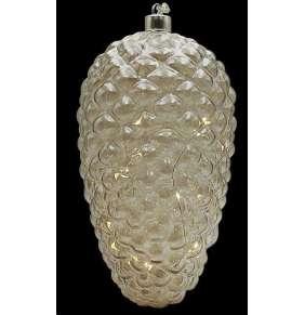 Marimex Decor Crystal Zlatá šiška
