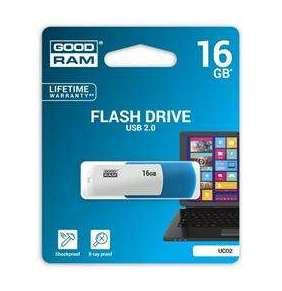 16 GB .   USB kľúč . GOODDRIVE COLOUR MIX modro-biela