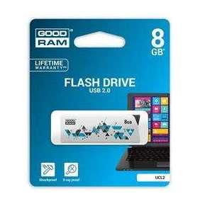 GOODRAM Flash Disk UCL2 8GB USB 2.0 bílá