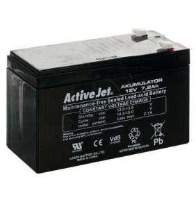 Akumulátor do UPS 12V Black/7,2Ah/12V ACP-AK7 Faston 6,3mm