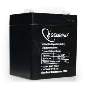 Energenie Rechargeable Gel Battery 12V/5AH