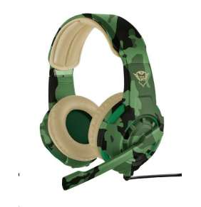 TRUST sluchátka GXT 310C Radius Gaming Headset - jungle camo