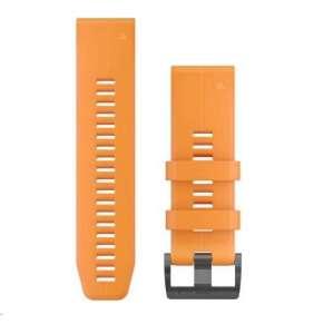 Garmin řemínek pro fenix5X Plus - QuickFit 26, oranžový