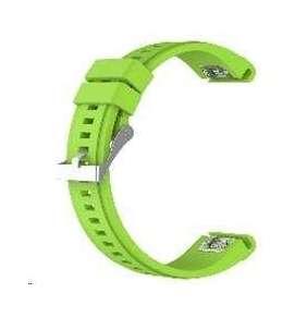 eses silikonový řemínek zelený pro Garmin Fenix 3/5X/5X Plus/5X Sapphire/3HR