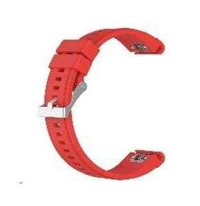 eses silikonový řemínek červený pro Garmin Fenix 3/5X/5X Plus/5X Sapphire/3HR