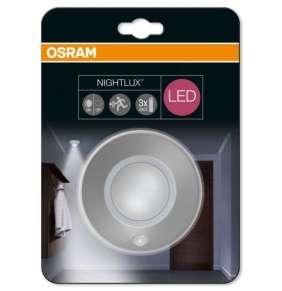 OSRAM LED Svítidlo mobilní   NIGHT LUX Ceiling Silver SENSOR 230V N/AW  0 noDIM A Plast lm 4000K 25000h (blistr 1ks)