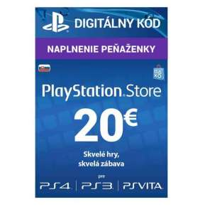 SONY PlayStation Live Cards Hang EUR20/SVK