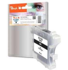 PEACH kompatibilní cartridge Brother LC-980 bk/LC-1100BK, Black, 13 ml