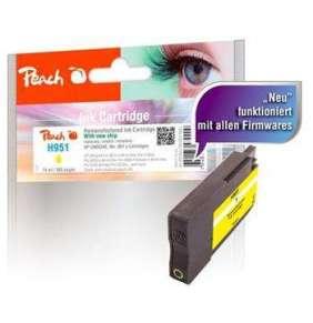 PEACH kompatibilní cartridge HP No. 951, žlutá, HP Officejet Pro 8600, 14ml