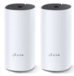 TP-LINK Deco M4(2-Pack) AC1200 Whole-Home Mesh Wi-Fi System, Qualcomm CPU, 867Mbps at 5GHz+300Mbps at 2.4GHz
