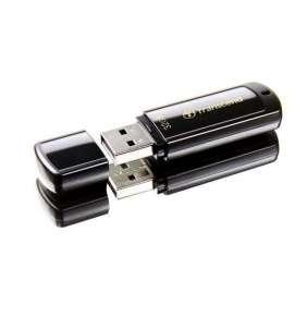 TRANSCEND Flash Disk 32GB JetFlash®350, USB 2.0 (R:16/W:6 MB/s) černá