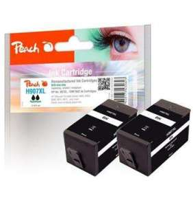 PEACH kompatibilní cartridge HP No. 907XL, černá, Twin-Pack 2 x 43ml