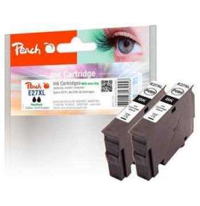 PEACH kompatibilní cartridge Epson No.27XL Twin-Pack, PI200-471, 2x Black, 2x 14 ml