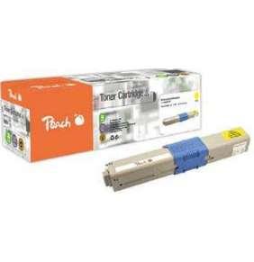 PEACH kompatibilní toner OKI 44469704, žlutá, 2000 výnos