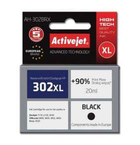 ActiveJet ink HP 302XL F6U68AE regenerated AH-302BRX   20 ml