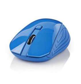 Nedis MSWS400BU - Bezdrátová myš | 1 000 dpi | 3 tlačítka | Modrá