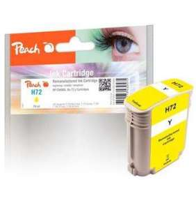 PEACH kompatibilní cartridge HP No. 72, žlutá, C9400A, 76ml