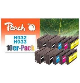 PEACH kompatibilní cartridge HP No. 932/933, Multi-Pack1x ink bk,c,m,y, 1x16/3x8,5ml