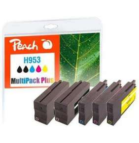 PEACH kompatibilní cartridge HP No. 953, Multi-Pack-Plus, 2x bk, 1x c,m,y  2x24/3x10ml