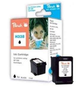 PEACH kompatibilní cartridge HP C8765E No.338, Black, 17 ml