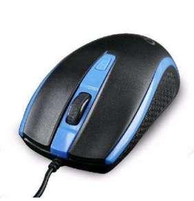 Myš GEMBIRD MUS-104, modrá, USB