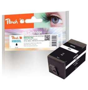 PEACH kompatibilní cartridge HP No. 903XL, černá, T6M15AE