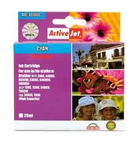 ActiveJet ink Brother LC1000C new AB-1000CN   35 ml