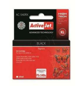 Ink ActiveJet AC-540RX | black | 25 ml | Canon PG-540XL