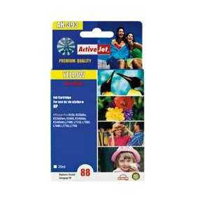 ActiveJet Ink cartridge HP 9393 Large Yellow ref. no88 - 35 ml     AH-393