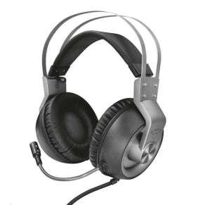 Trust GXT 430 Ironn headset / herní / náhlavní / drátový / 50mm měniče / mikrofon / 3,5mm jack / černo-šedý