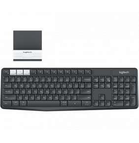 Logitech K375s Multi-Device Wireless Keyboard and Stand Combo, US verzia