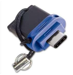 VERBATIM Flash Drive 32GB Store 'n' Go Dual Drive USB 3.0/USB Type-C, modrá